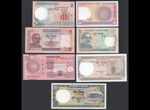 Bangladesh - 1- 20 Taka - 7 Stück Banknoten UNC (1) (26746