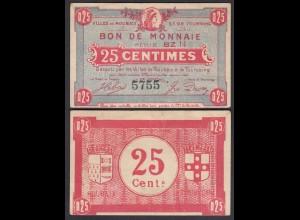 Frankreich - France ROUBAIX et TOURCOING 25 Cent Banknote VF (3) (26753
