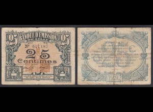 Frankreich - France Lille 25 Centimes 1915 Banknote F (4) (26757
