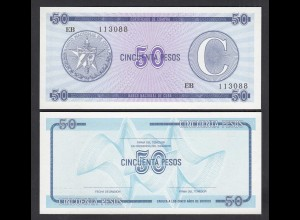 Kuba - Cuba 5 Stück á 50 Peso Foreign Exchange C1985 Pick FX24 UNC (1) (26763