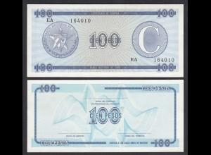 Kuba - Cuba 100 Peso Foreign Exchange Certificates 1985 Pick FX25 UNC (1) (26764
