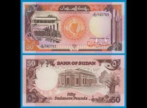 Sudan - 50 Pounds Banknote 1991 Pick 48 UNC (1) (18610