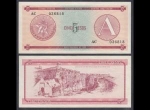 Kuba - Cuba 5 Peso Foreign Exchange Certificates 1985 Pick FX3 VF (3) (26794
