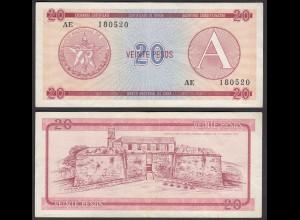 Kuba - Cuba 20 Peso Foreign Exchange Certificates 1985 Pick FX5 VF (3) (26795