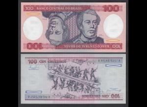 Brasilien - Brazil 100 Cruzaros (1984) Pick 198b UNC (1) (26805