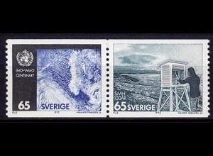 Schweden - Sweden 1973 Mi. 806-07 ** Meterologie IMO WMO (6955