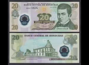 HONDURAS 20 LEMPIRAS BANKNOTE 2008 Pick 95 UNC (1) (26817
