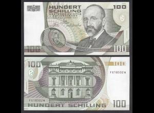 Österreich - Austria 100 Schilling 1984 Pick 150 UNC (1) 2 Serien Buchstaben