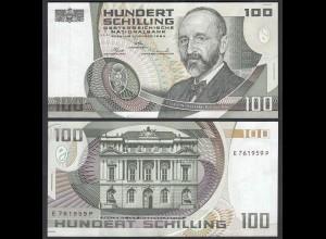Österreich - Austria 100 Schilling 1984 Pick 150 UNC (1) 1 Serien Buchstabe
