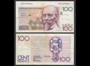 Belgien - Belgium 100 Francs Banknote ND (1982-94) Pick 142a F (4) (26844