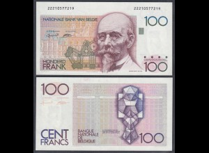 Belgien - Belgium 100 Francs Banknote ND (1982-94) Pick 142a XF (2) (26846