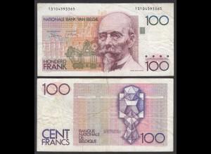 Belgien - Belgium 100 Francs Banknote ND (1978-81) Pick 140a F (4) (26847