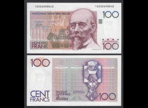 Belgien - Belgium 100 Francs Banknote ND (1978-81) Pick 140a XF (2) (26848