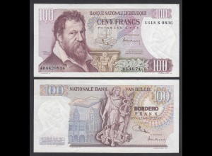 Belgien - Belgium 100 Francs 5.11.1974 Pick 134b VF+ (3+) (26849