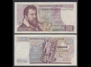 Belgien - Belgium 100 Francs 14.3.1974 Pick 134b VF (3) (26850