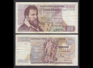 Belgien - Belgium 100 Francs 14.5.1974 Pick 134b F (4) (26851