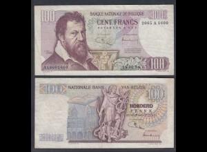 Belgien - Belgium 100 Francs 18.2.1974 Pick 134b F (4) (26855