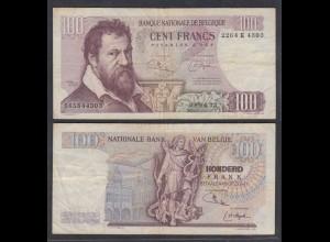 Belgien - Belgium 100 Francs 8.4.1975 Pick 134b F (4) (26857