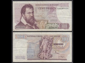 Belgien - Belgium 100 Francs 7.4.1975 Pick 134b F (4) (26858