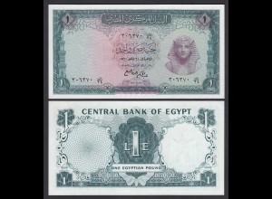Agypten - Egypt 1 Pound 1961 Pick 37 UNC (1) (26868