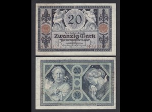 Reichsbanknote 20 Mark 1915 Ro 53 XF (2) (26872