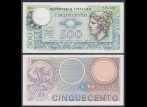 Italien - Italy 500 Lire Banknote 14-2-1974 Pick 94 UNC (1) (26891