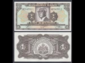 HAITI 1 GOURDE Banknote 1979 PICK 239 aUNC (1-) (26968