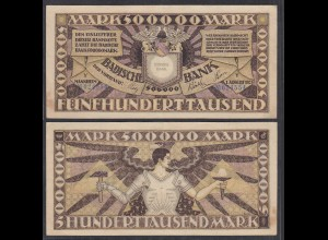 Baden 500.000 500000 Mark 1923 Länderbanknote Ro BAD10 Serie Y (26995