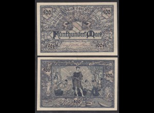Baden 500 Mark 1922 Ro BAD7a Länderbanknote (27000