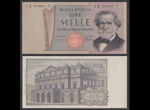Italien - Italy 1000 Lire Banknote 1973 Pick 101c VF/XF (3/4) (27020