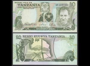 Tansania - Tanzania 10 Shilingi (1978) Pick 6c UNC (1) (27021