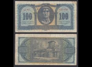 Griechenland - Greece Königreich 100 Drachmai 1953 Pick 324b F (4) 27062