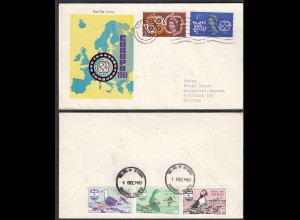 Jethou Island 1961 Europa First Day Cover Great Britain Local Issues (27092