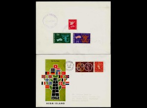 HERM ISLAND (Guernsey) 1962 EUROPA nice cover set of 3 (27104