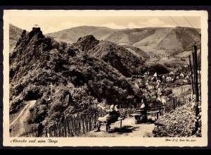 AK Altenahr Ahrweiler Blick von den Bergen Echt Foto (6987