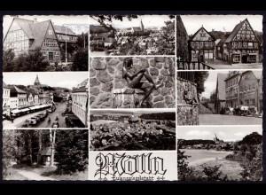 AK Mölln Eulenspiegel Stadt Mehrbildkarte interessante Ansichten (6990