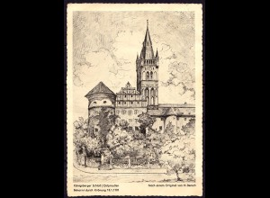 AK Königsberg Ostpreussen Kunstkarte nach Original von H.Bensch (6993