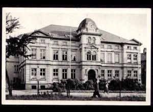 AK Solingen Ohligs Rathaus gelaufen 1960 (6981