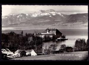 AK Kammer am Attersee mit Schofberg echt Foto (6975