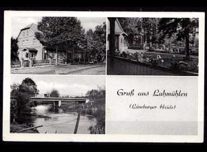 AK Luhmühlen Gasthaus Luhetal Salzhausen Lüneburger Heide (6973
