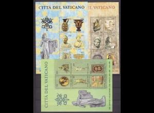 Vatikan Vatican City - Block 5 + 6 + 7 ** 1983 Museen Kunstwerke (10501