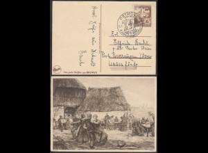 3.Reich WW2 1939 DETMOLD 6.Erinnerungstreffen auf EDUSCHO AK Erntedank (27193