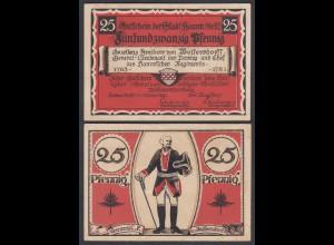 Westfalen - Hamm 25 Pfg.1921 Notgeld General von Wolfersdorff (26888