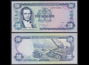JAMAIKA - JAMAICA 10 Dollars Banknote 1991 Pick 71d UNC (1) (21521