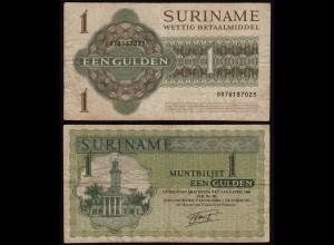 SURINAM - SURINAME 1 Gulden 1986 Pick 116i F (4) (21178