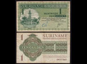 SURINAM - SURINAME 1 Gulden 1967 Pick 116a F (4) (21182