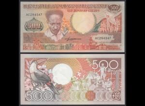 SURINAM - SURINAME 500 Gulden 1988 Pick 135b UNC (1) (21191