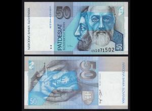 SLOWAKEI - SLOVAKIA 50 Korun Banknoten 1993 Pick 21b UNC (1) (21214