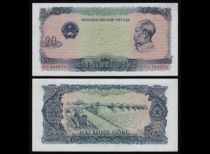 VIETNAM - 20 Dong Banknote (1976) Pick 83a XF (2) (21226