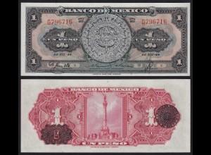 MEXIKO - MEXICO - 1 Peso 22.12.1948 Serie BD Pick 46a aUNC (1-) (21232